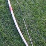 Een voorbeeld van een Longbow.
